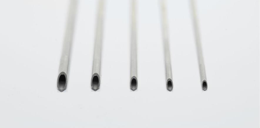 Manual single lumen aspiration needles