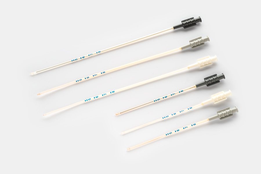 Embryo transfer catheters